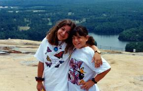 The Girls On Stone Mountain, Ga